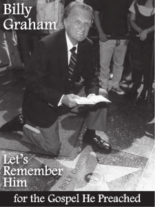 Billy Graham's Star