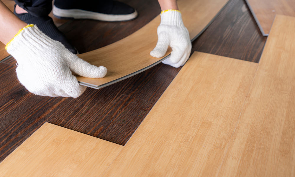 how much is vinyl plank flooring installed