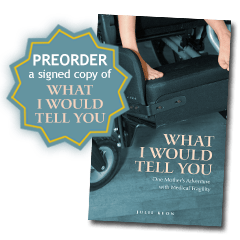 What I Would Tell You book preorder