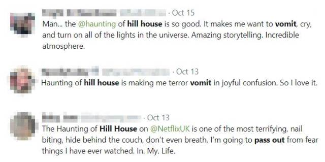 Tweets About The Haunting Of Hill House