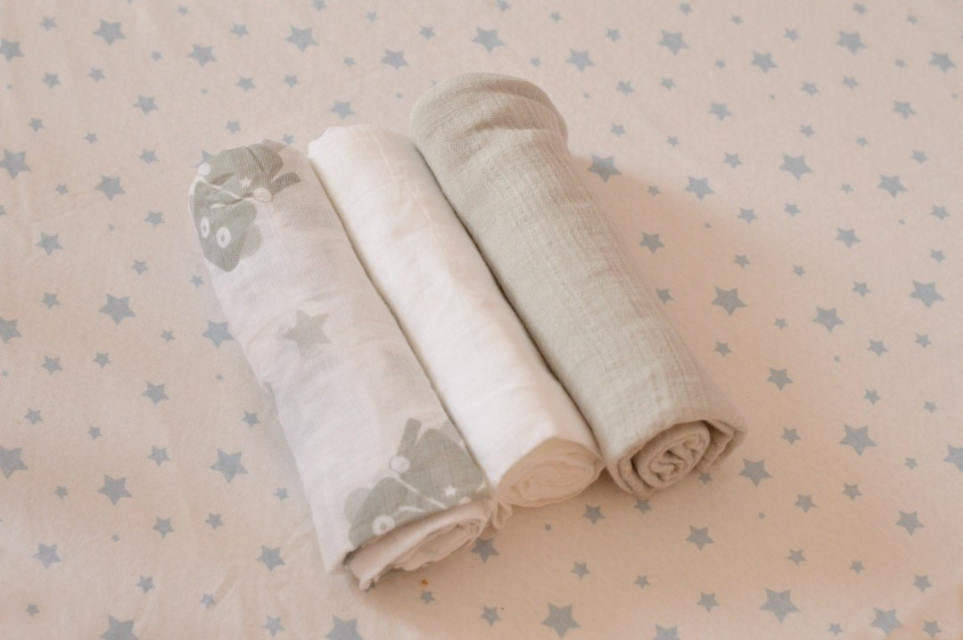 Aldi Baby Event Muslin cloths
