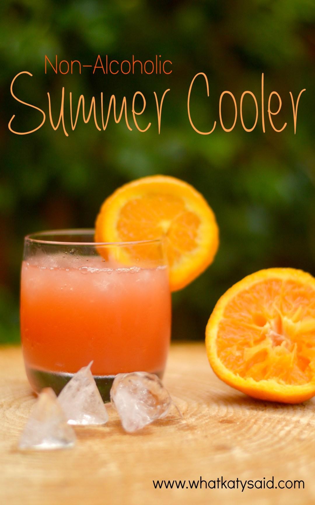 Non-Alcoholic Summer Cooler - Cocktail Recipe