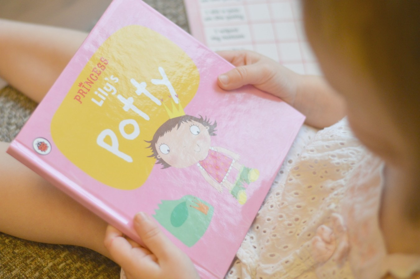 Personalised potty training book 2