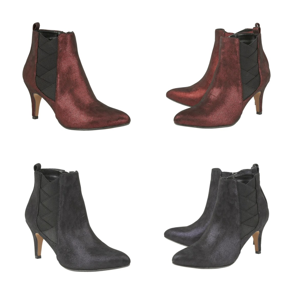 what-lizzy-loves-how-to-style-high-heeled-ankle-boots-burgundy-black-Booney-lotus