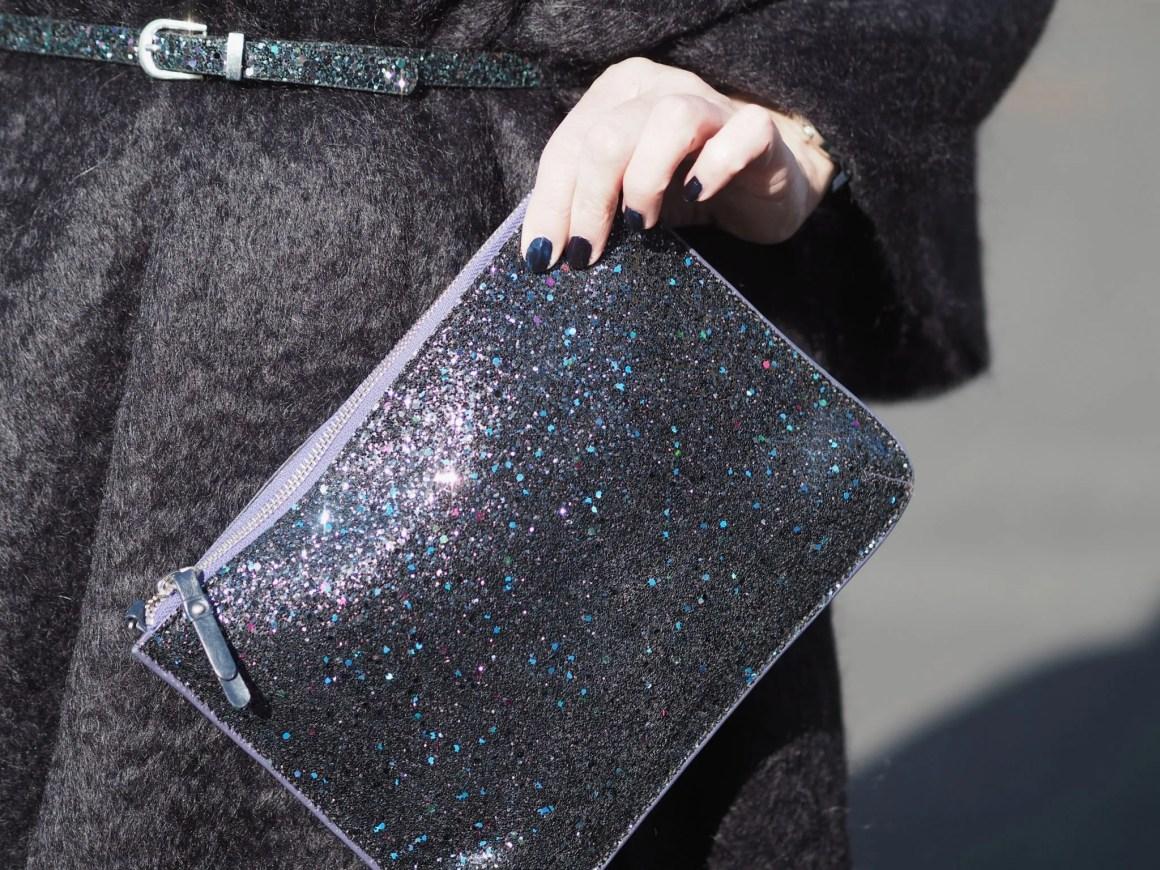 what-lizzy-loves-coated-skinnies-black-mohair-serape-multi-glitter-clutch