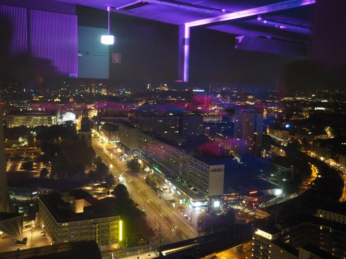 what lizzy loves zeiss future of optics berlin after party menu view from florr 37 Park Inn Alexanderplatz