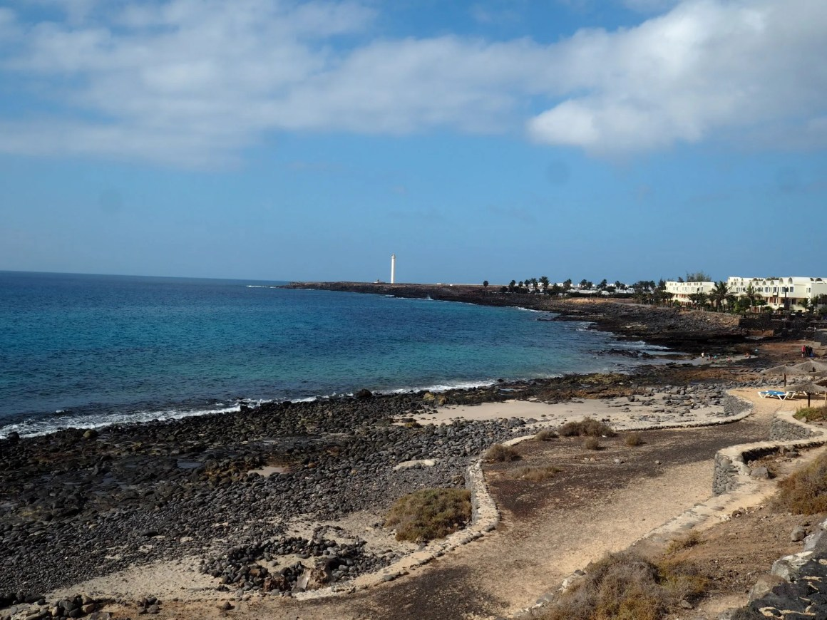 what lizzy loves lanzarote beach view