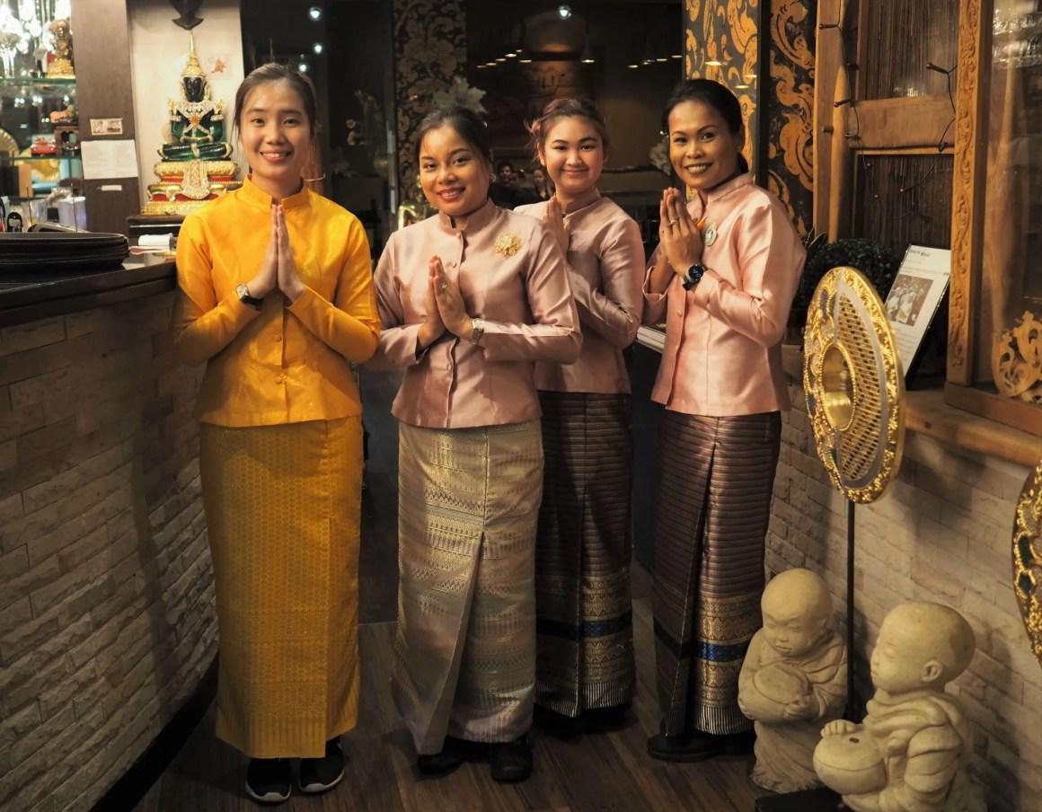 What Lizzy Loves Sukhothai restaurant Leeds staff