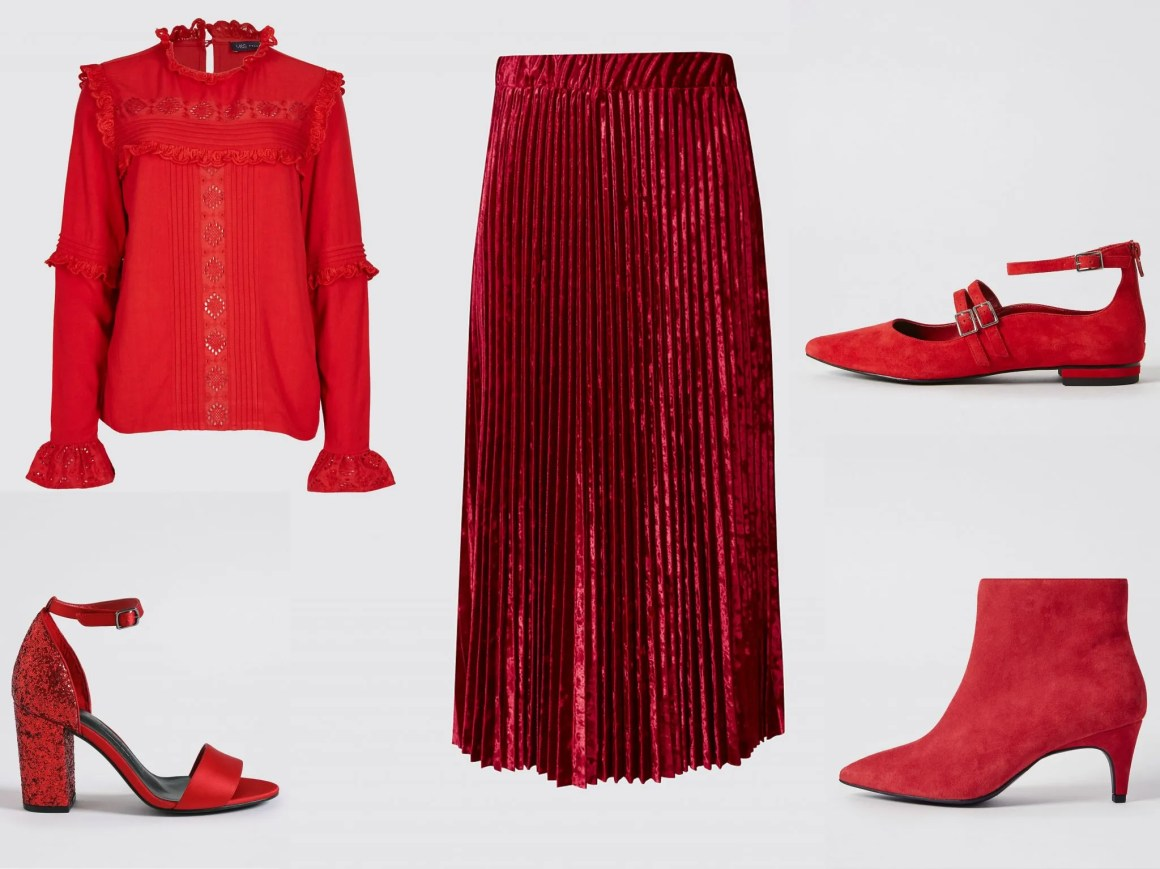 what lizzy loves winter favourites red