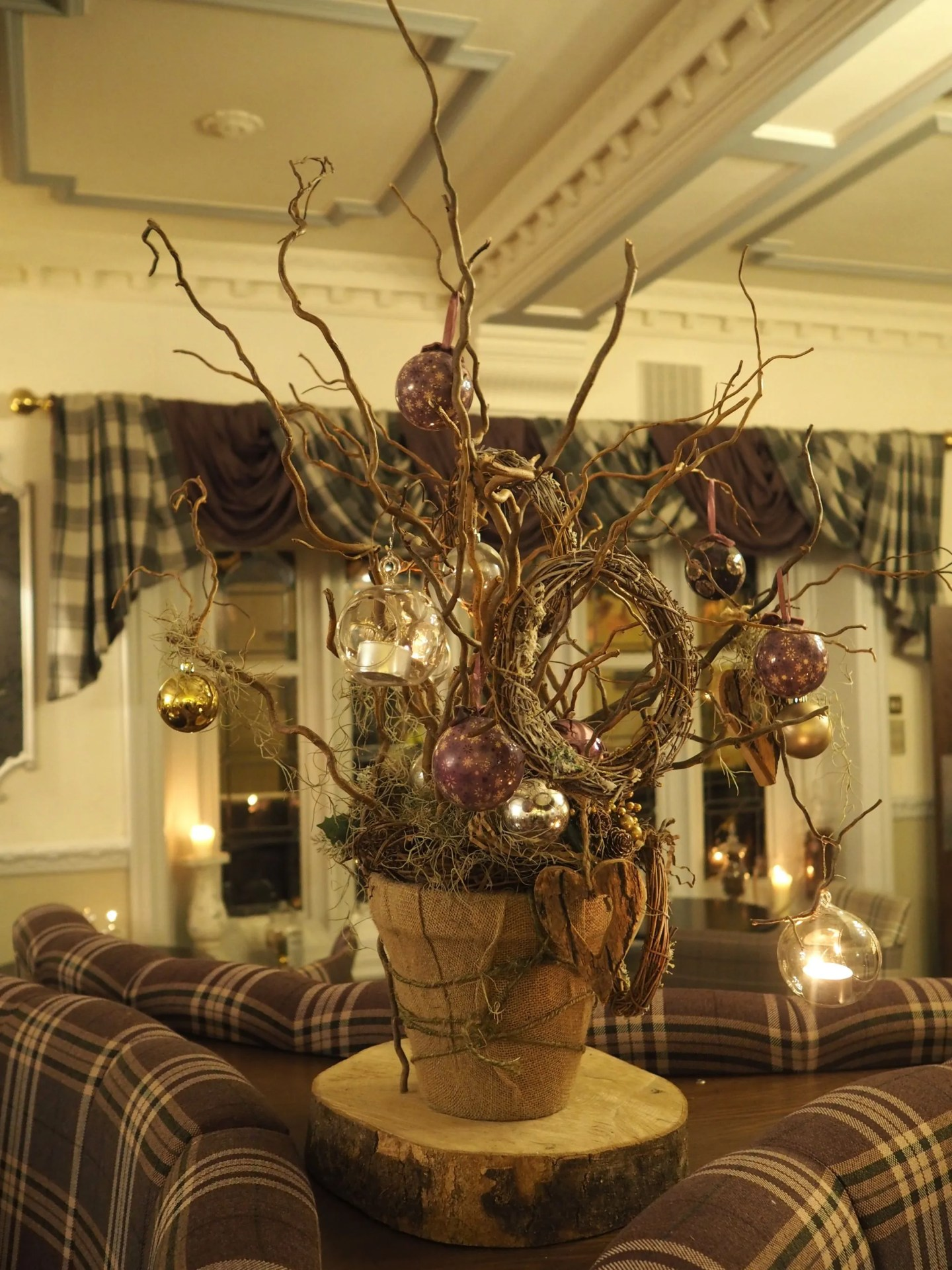 What Lizzy Loves Christmas decorations Stirk House
