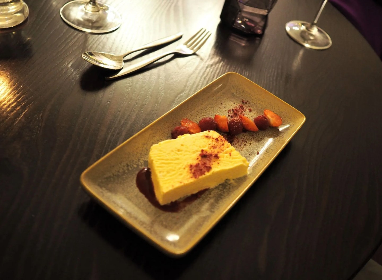 What Lizzy Loves Christmas Stirk House, Prime restaurant iced lemon meringue parfait