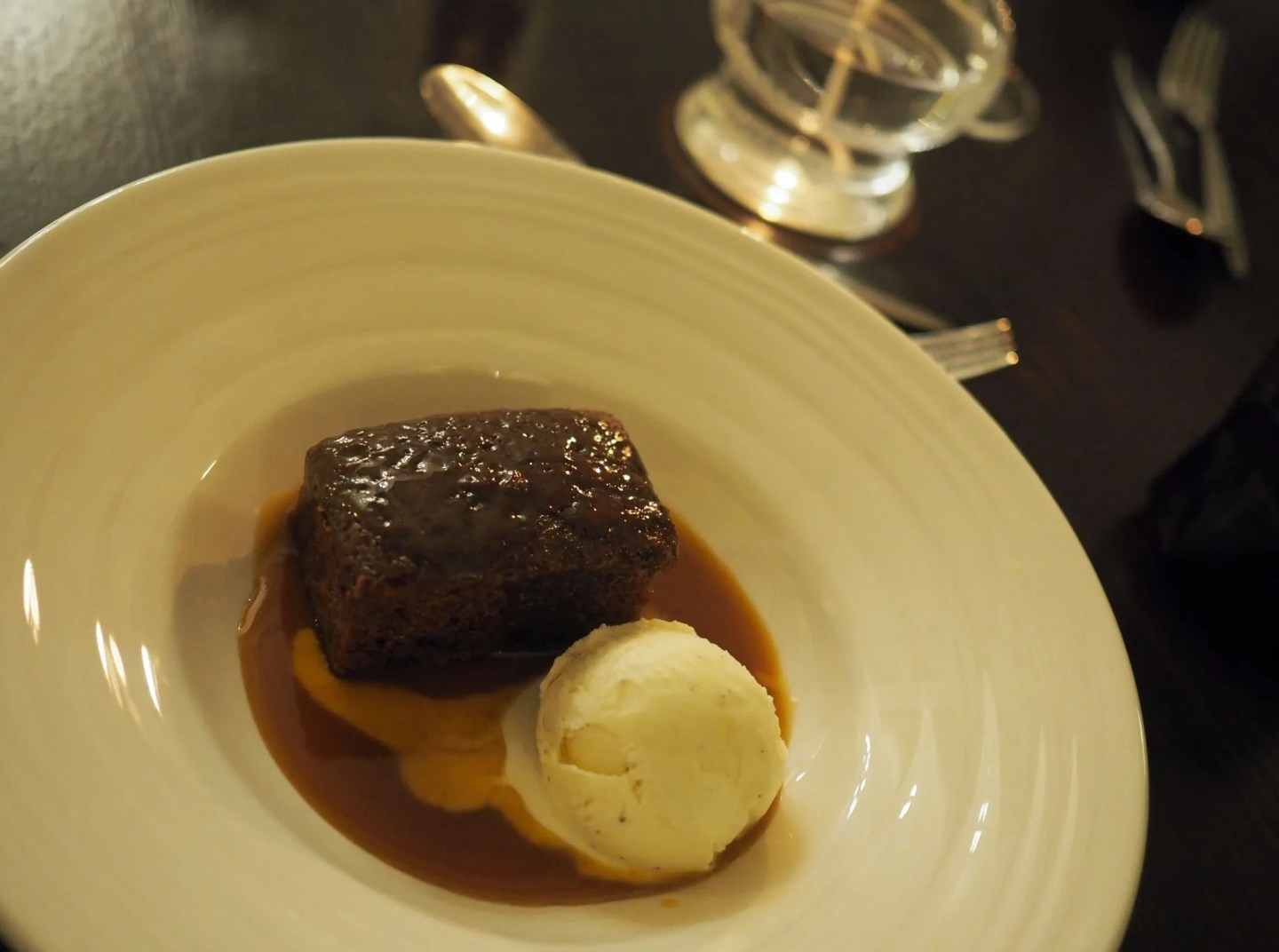 What Lizzy Loves Christmas Stirk House, Prime restaurant sticky toffee pudding