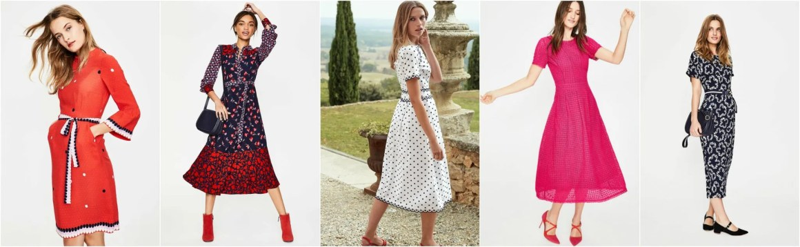 What Lizzy Loves Boden sale dresses