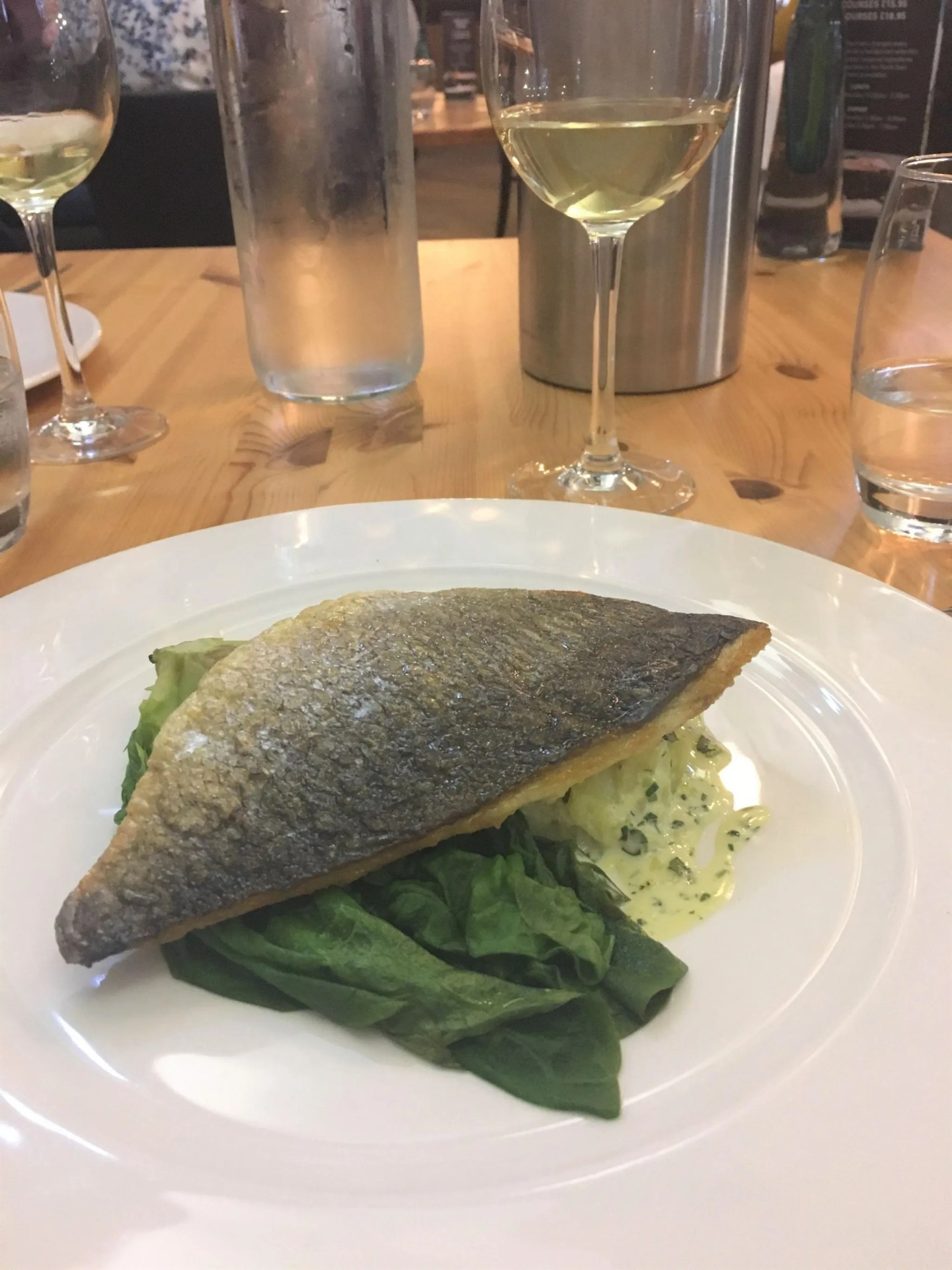 What Lizzy Loves sea bream Artisan Newcastle