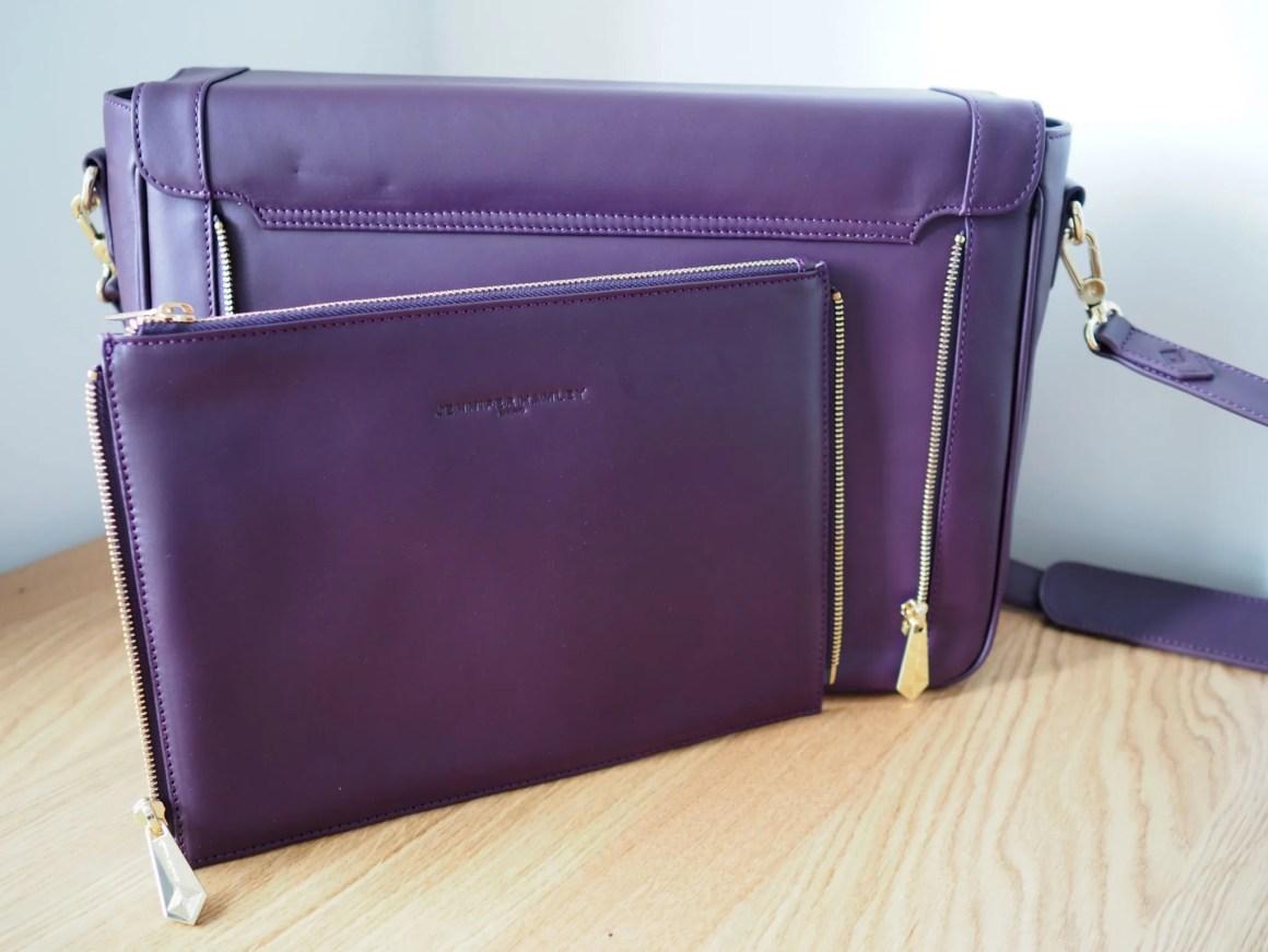 what-lizzy-loves-jennifer hamley-model-kt-laptop-bag-review-zip-off-clutch