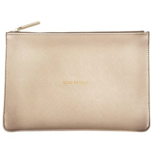 "Katie Loxton ""Good as Gold"" pouch"