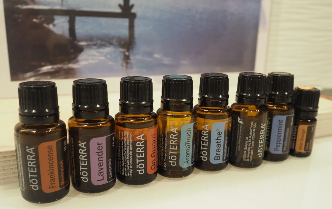 Doterra aromatherapy massage oils
