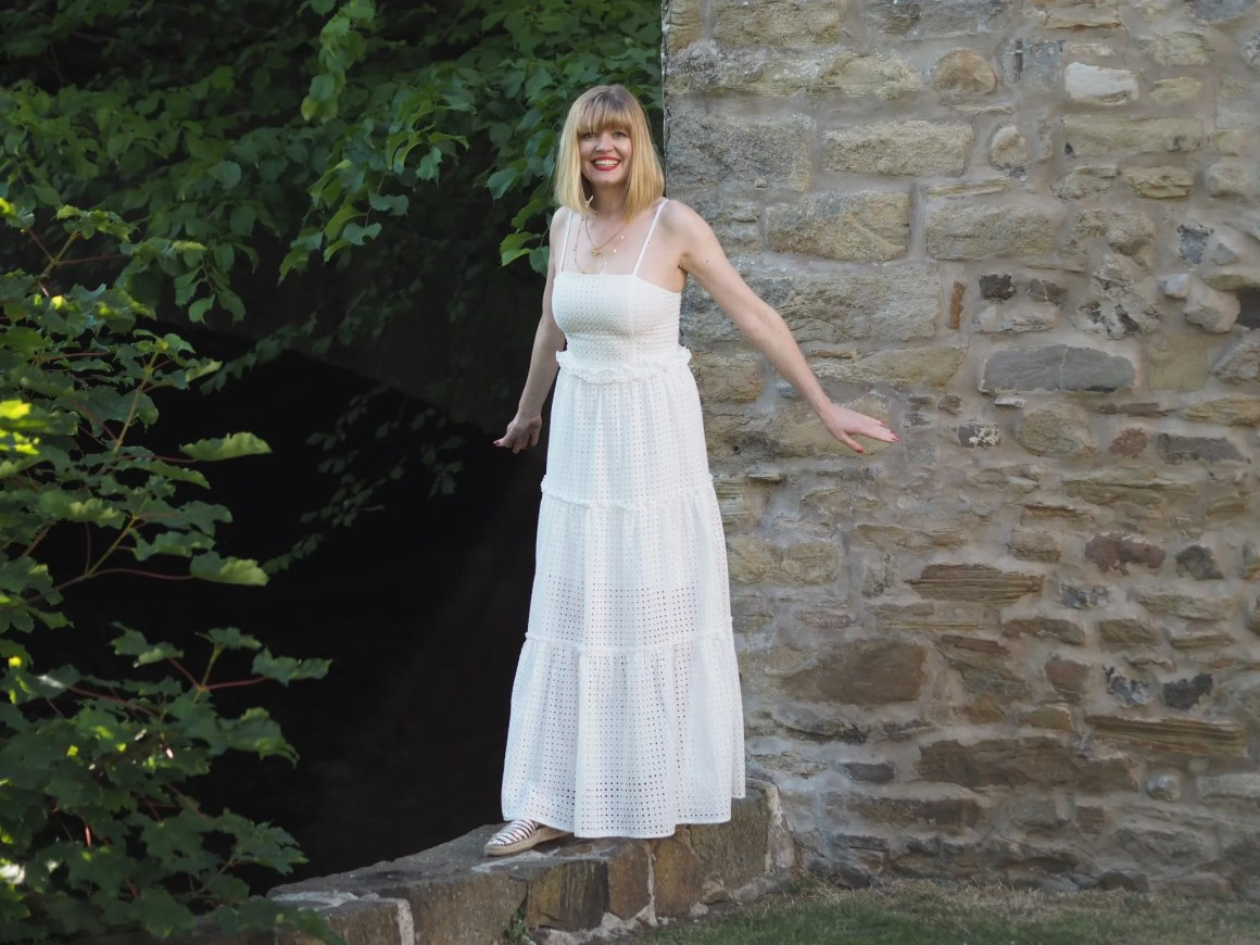 what lizzy loves white lace maxi dress