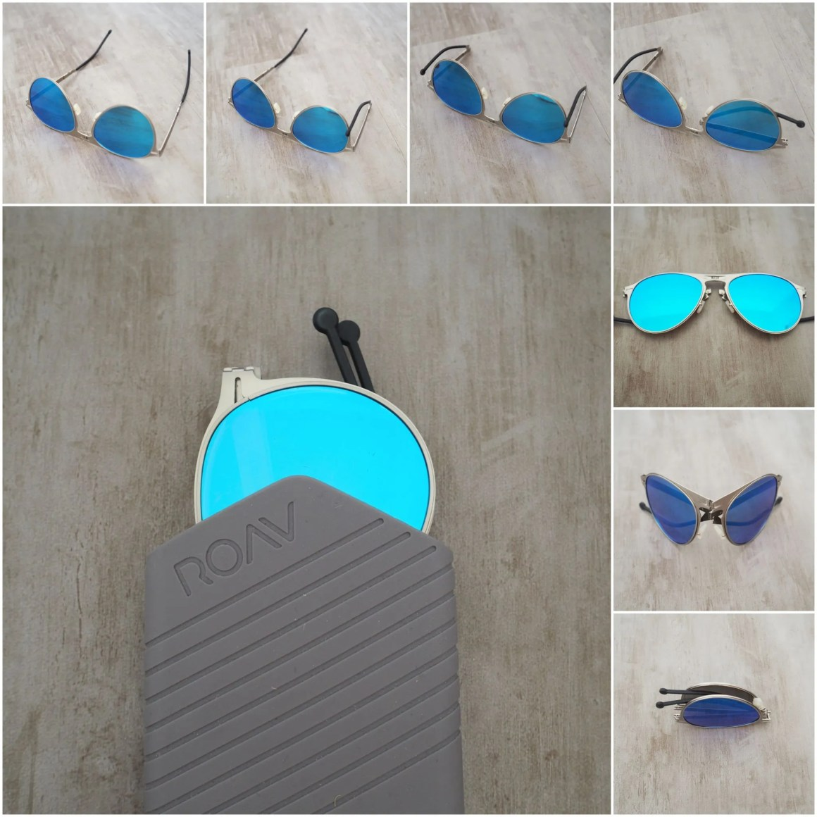ROAV world's slimmest folding sunglasses
