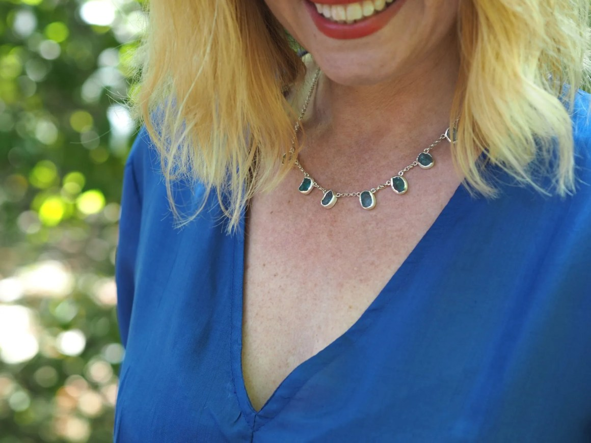 what likzzy loves apatite necklace
