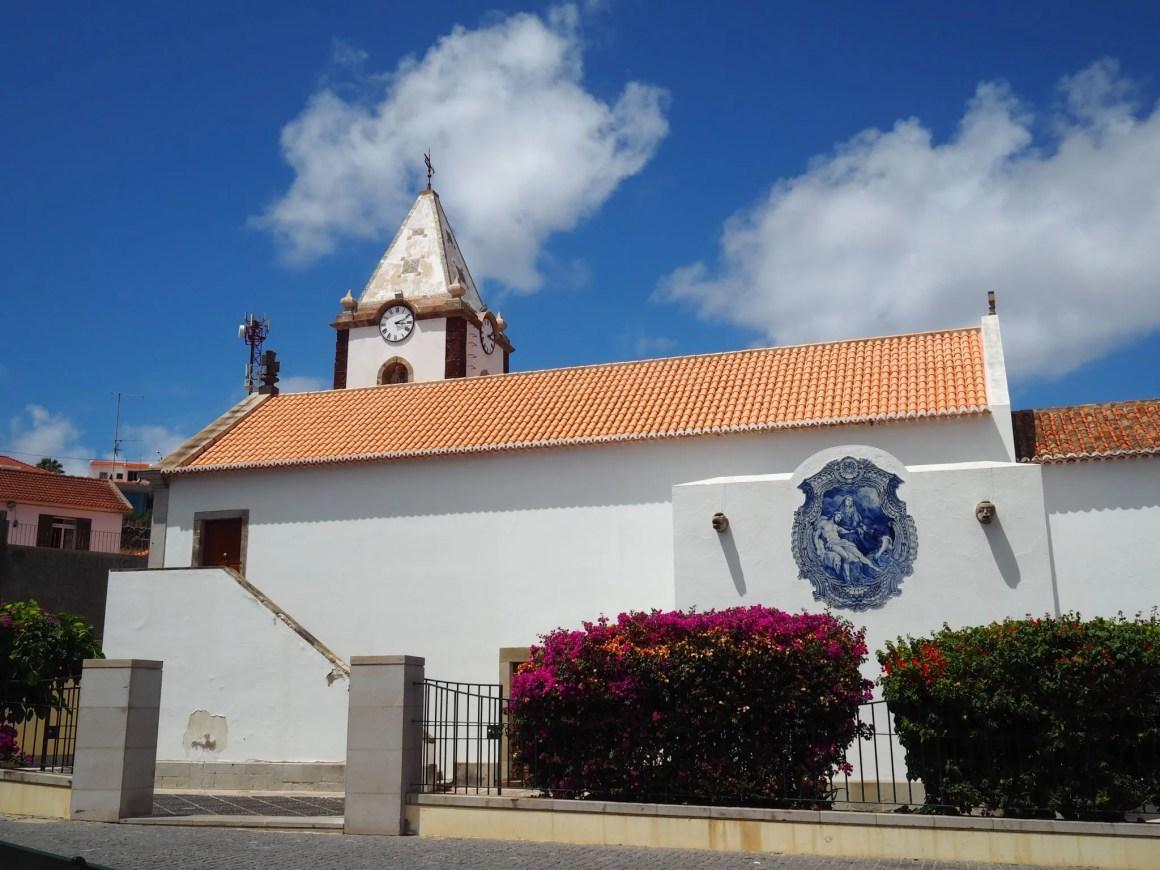 Porto Santo church