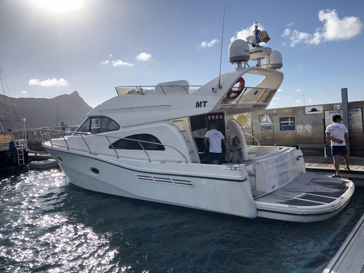 Porto Santo yacht trip