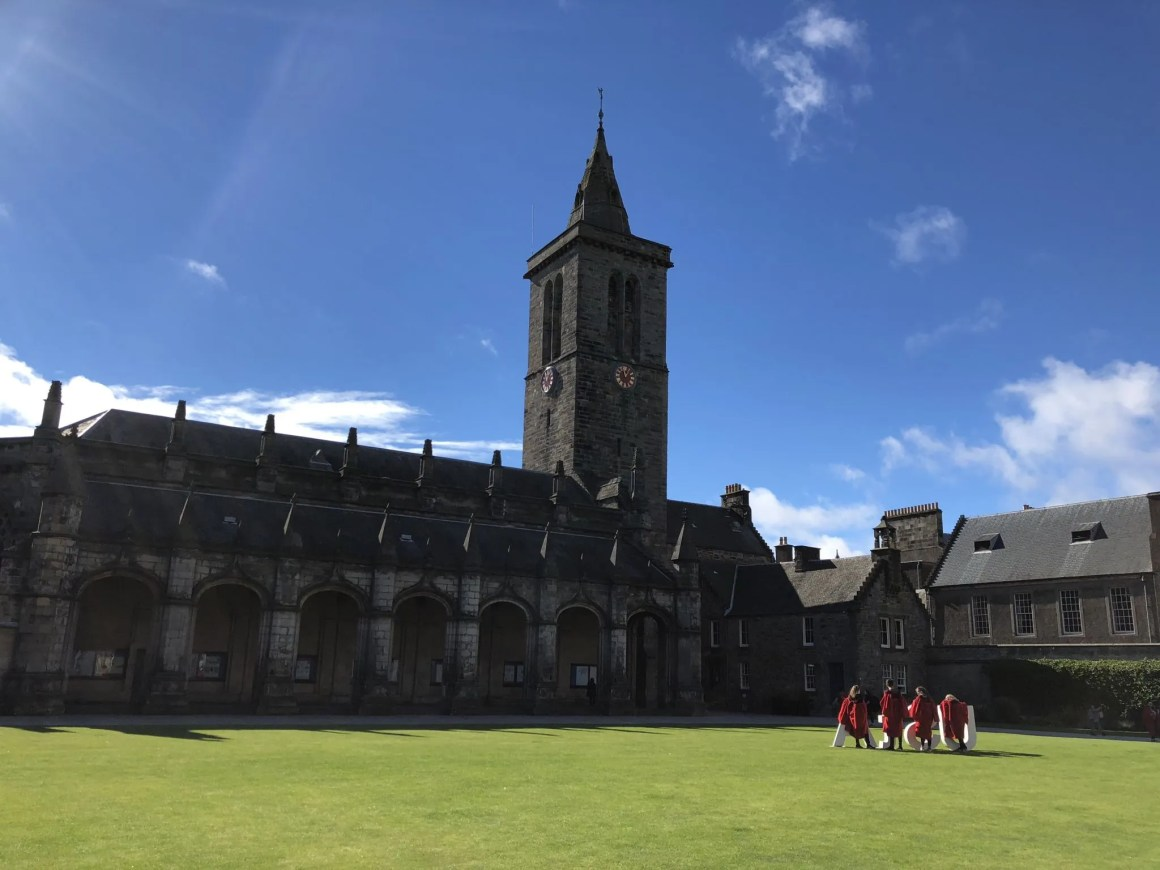 St Andrews university open day