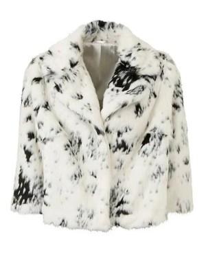 Joanna Hope Faux Fur Jacket