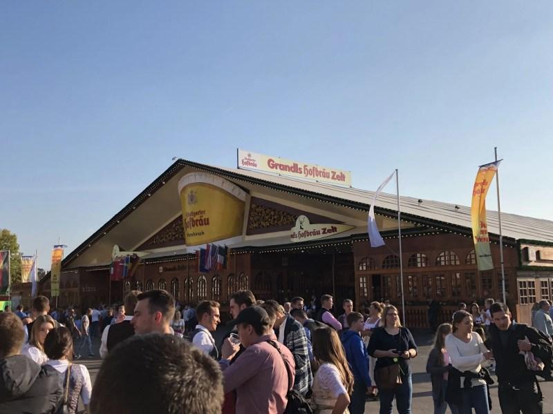 Stuttgart beer festival tent