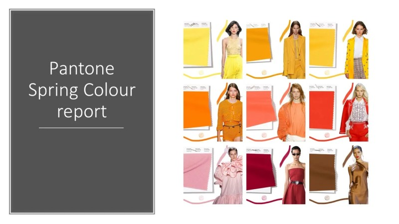 spring colour trends 2019