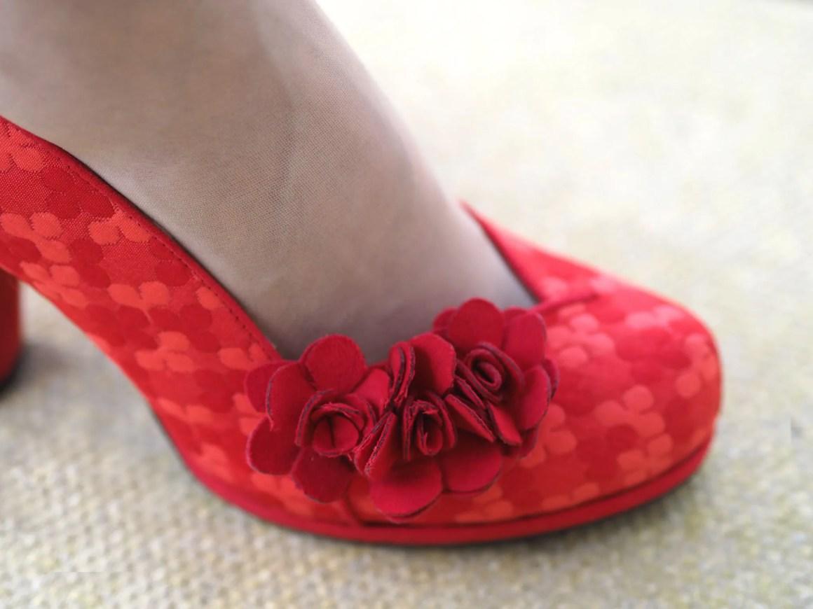 red Charlotte Ruby Shoos