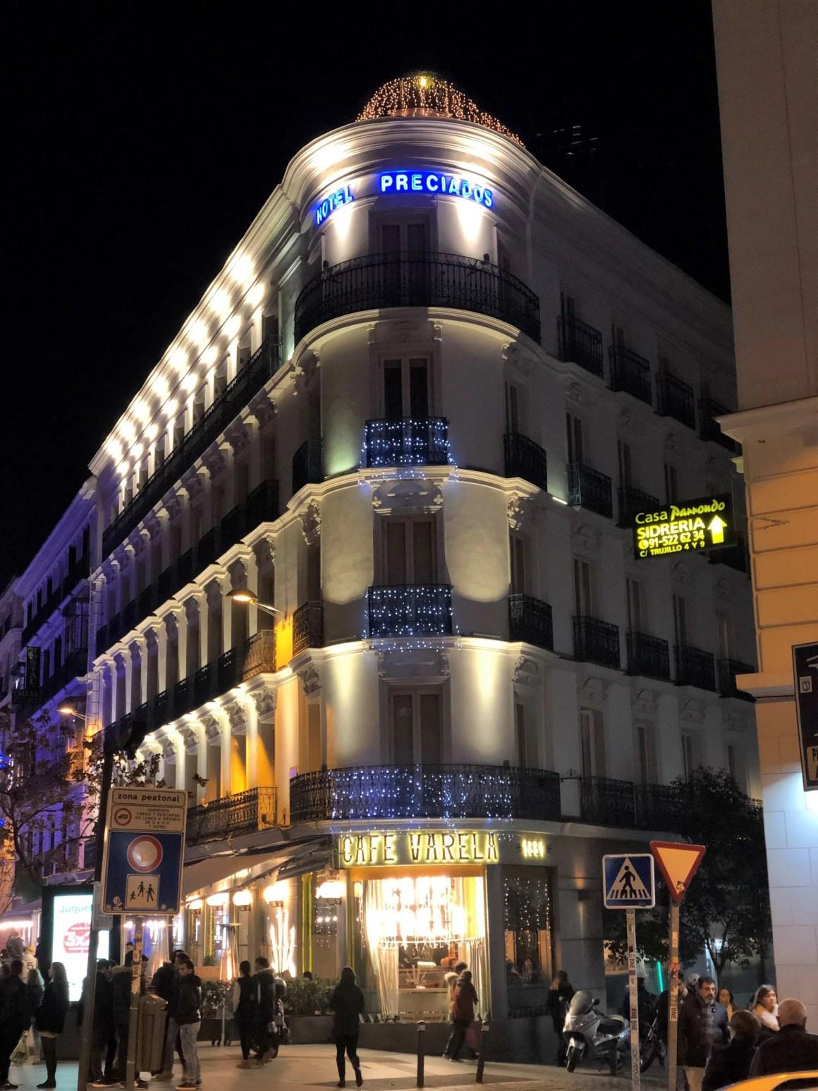 Cafe Valera Madrid