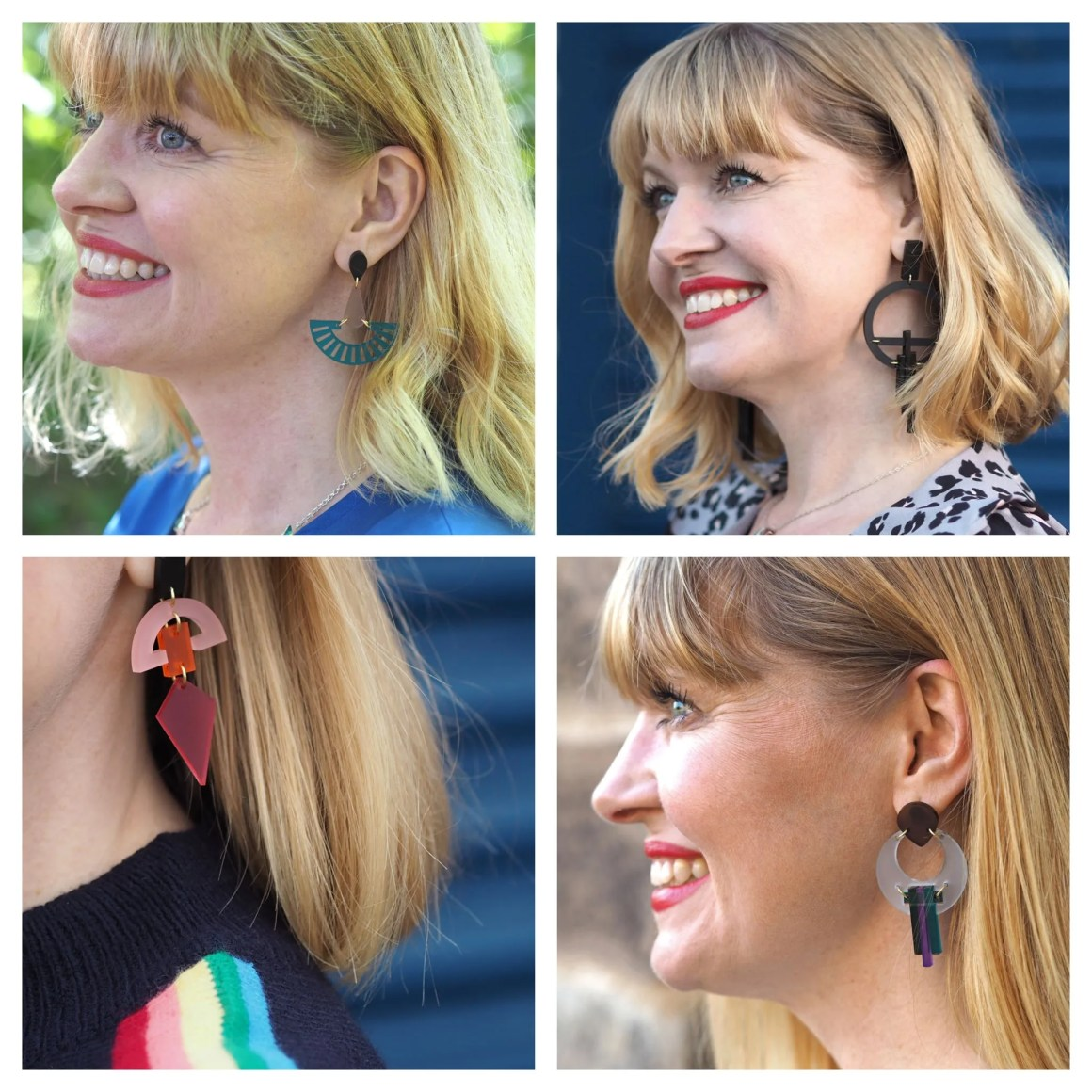 Christmas gift ideas from Yorkshire toolally earrings