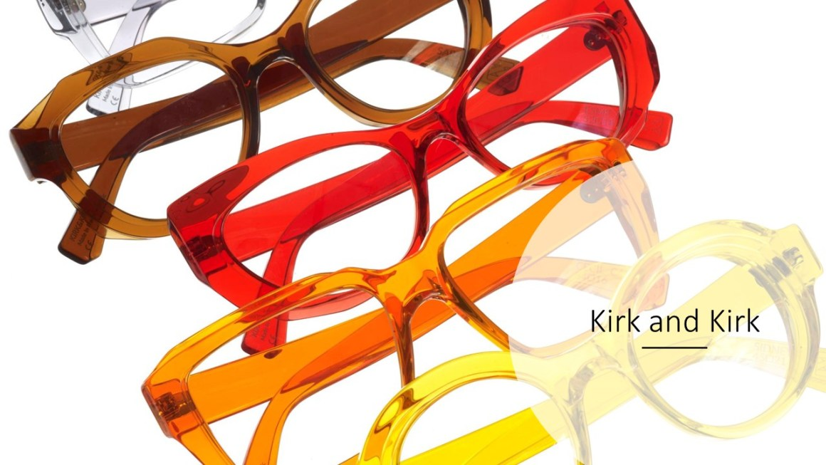 kirk and kirk spectacle frames pantone colours