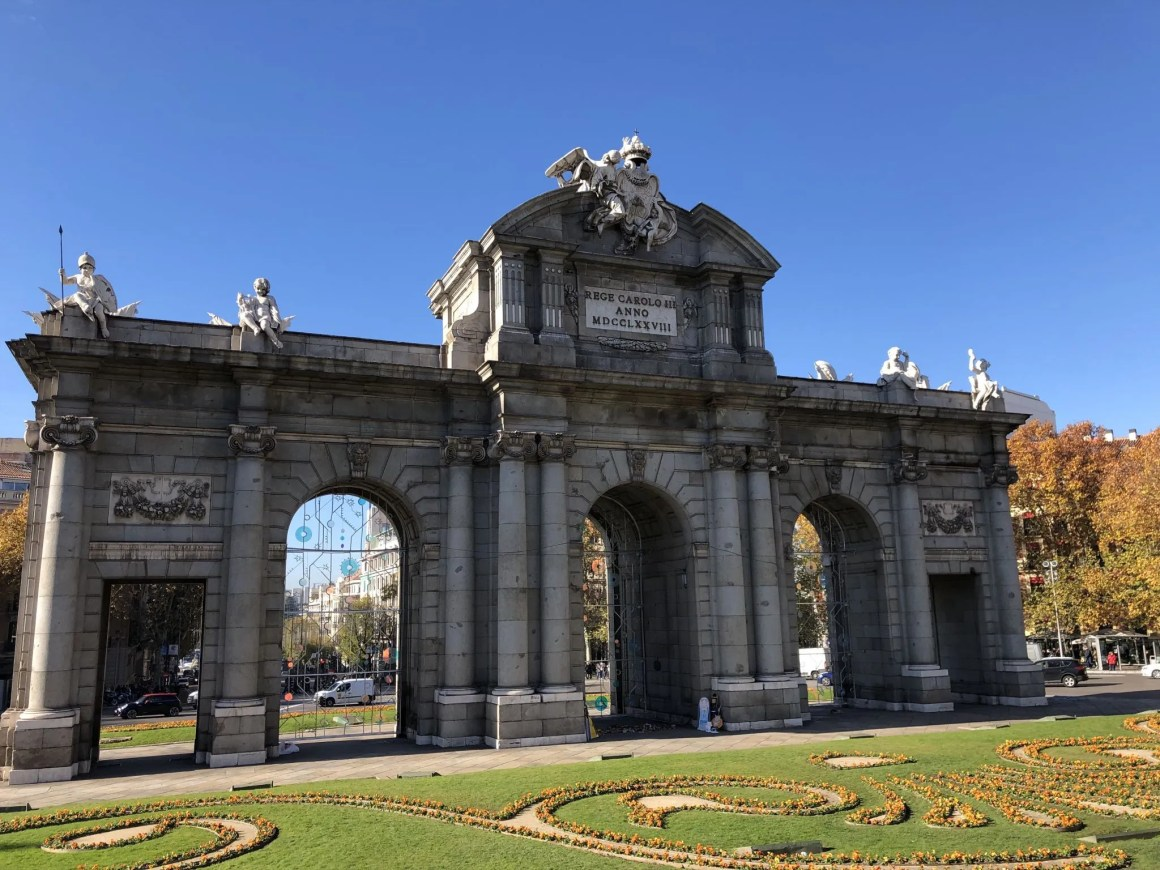 La Puerta del Alcalá Madrid