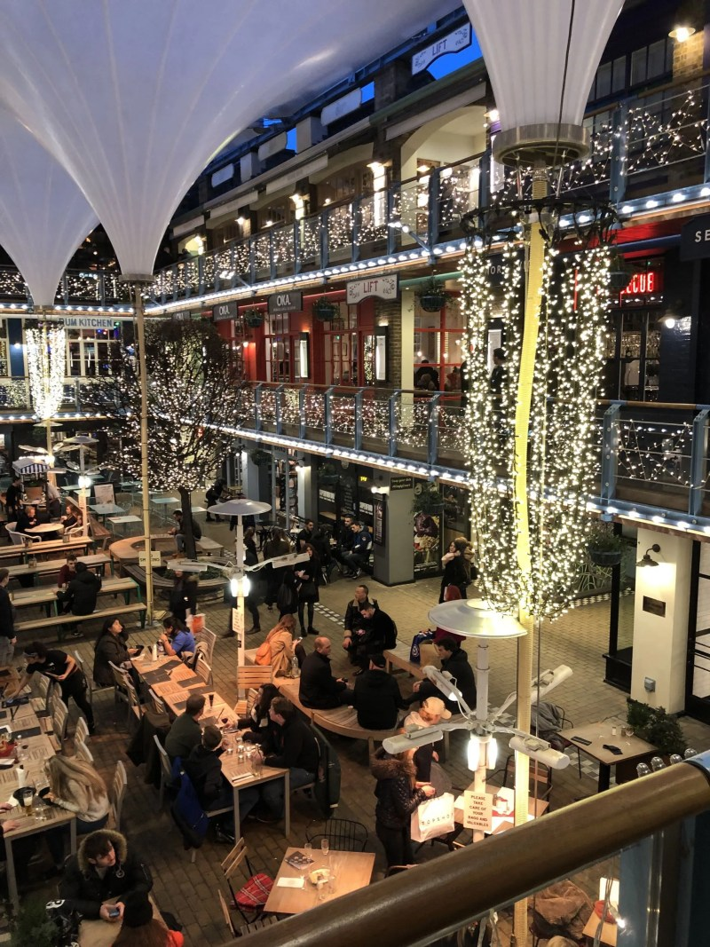 Carnaby shopping restaurant area