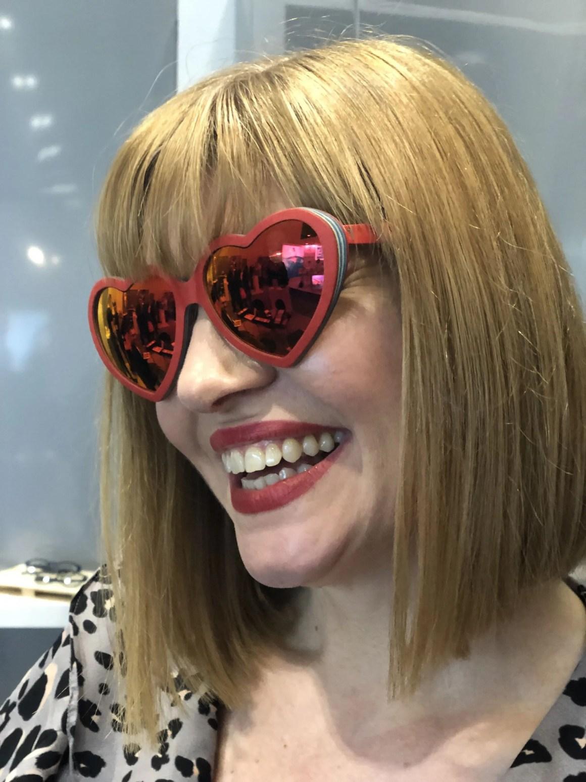 100% Optical 2019 Feb31st heart shaped glasses