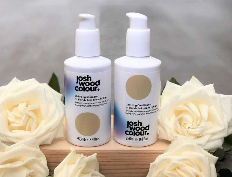spring updates josh wood shampoo and conditioner blonde hair prone to frizz