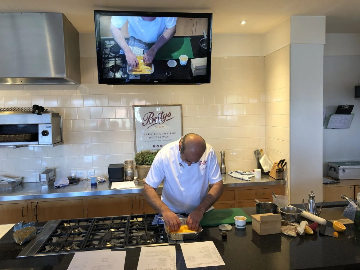Bettys cookery school review chef demonstration
