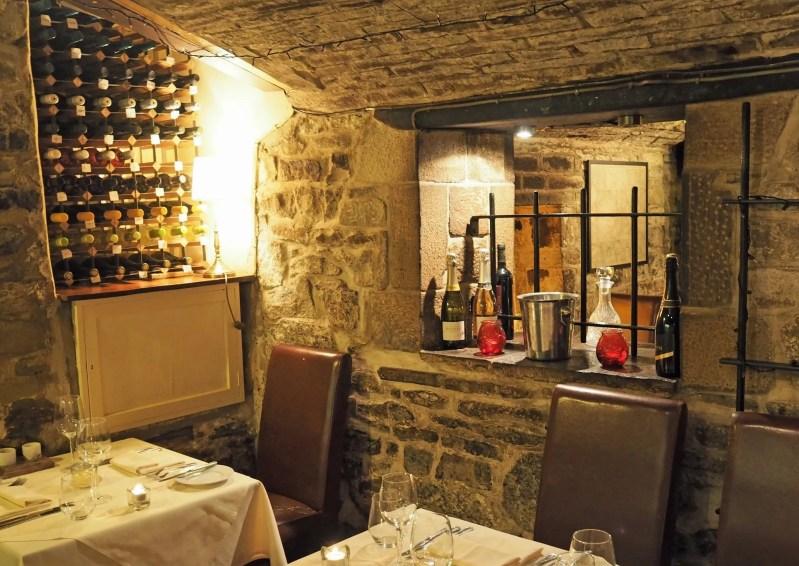 interior Le Caveau Skipton