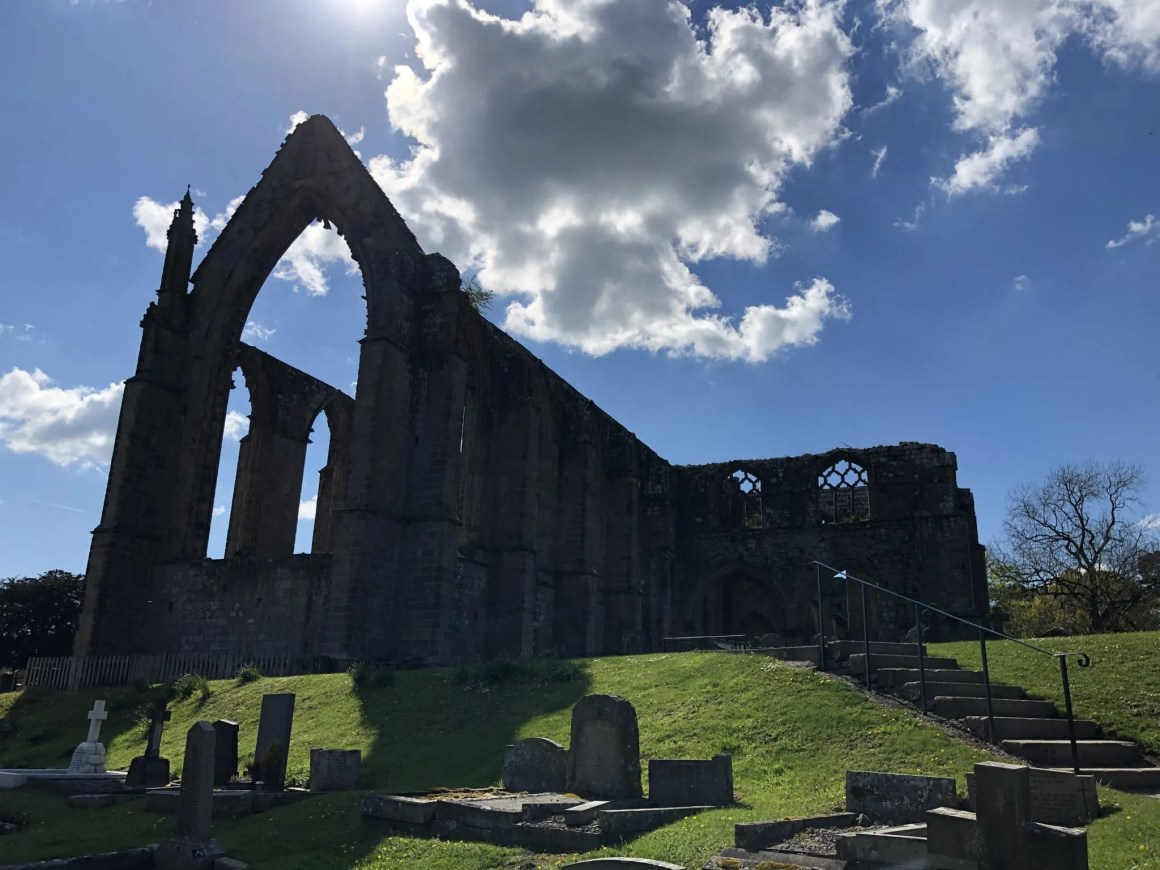 Bolton Abbey in summer