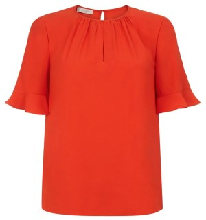 Hobbs Teagan Top In Tomato Red