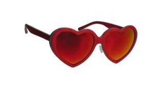 Feb31st LOL Heart Sunglasses