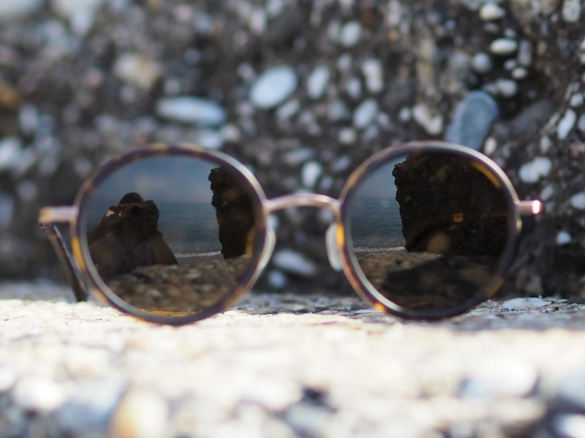 Otis round mineral glass sunglasses
