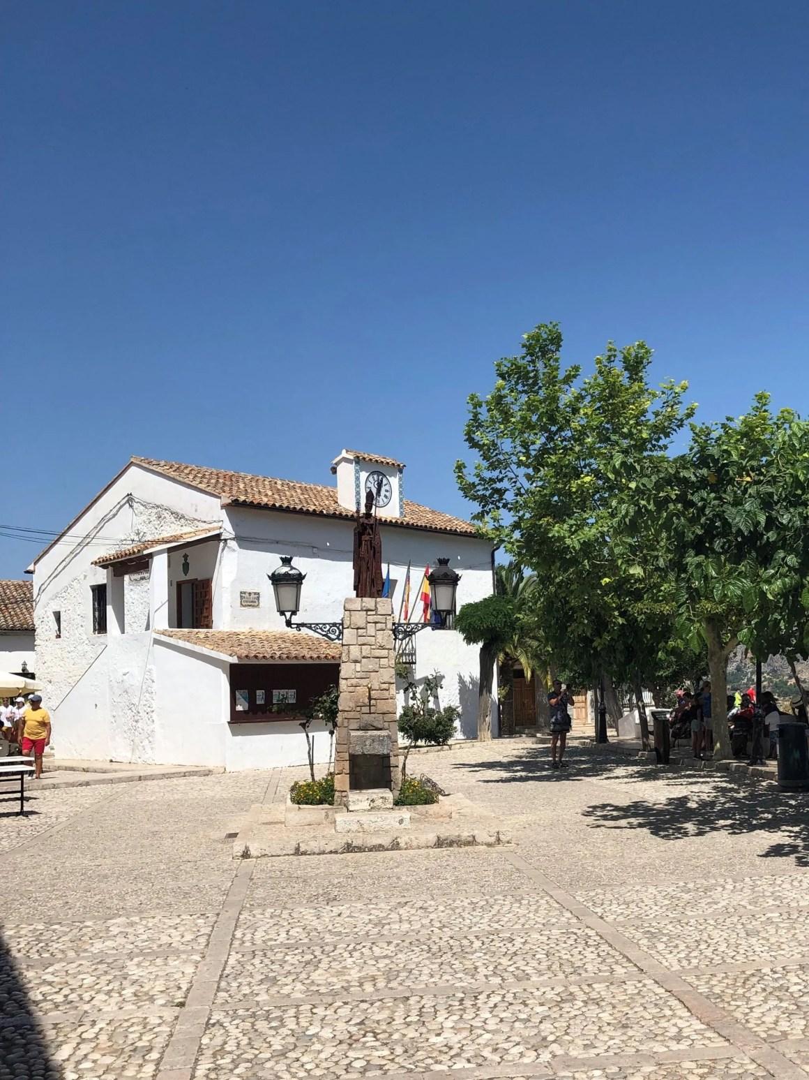 plaza de Guadalest