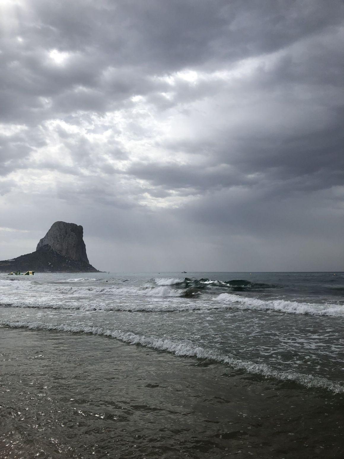 Playa Arenal-Bol, and Calpe rockCalpe