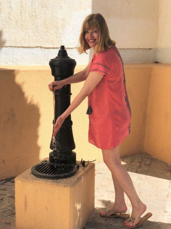 water fountain calpe