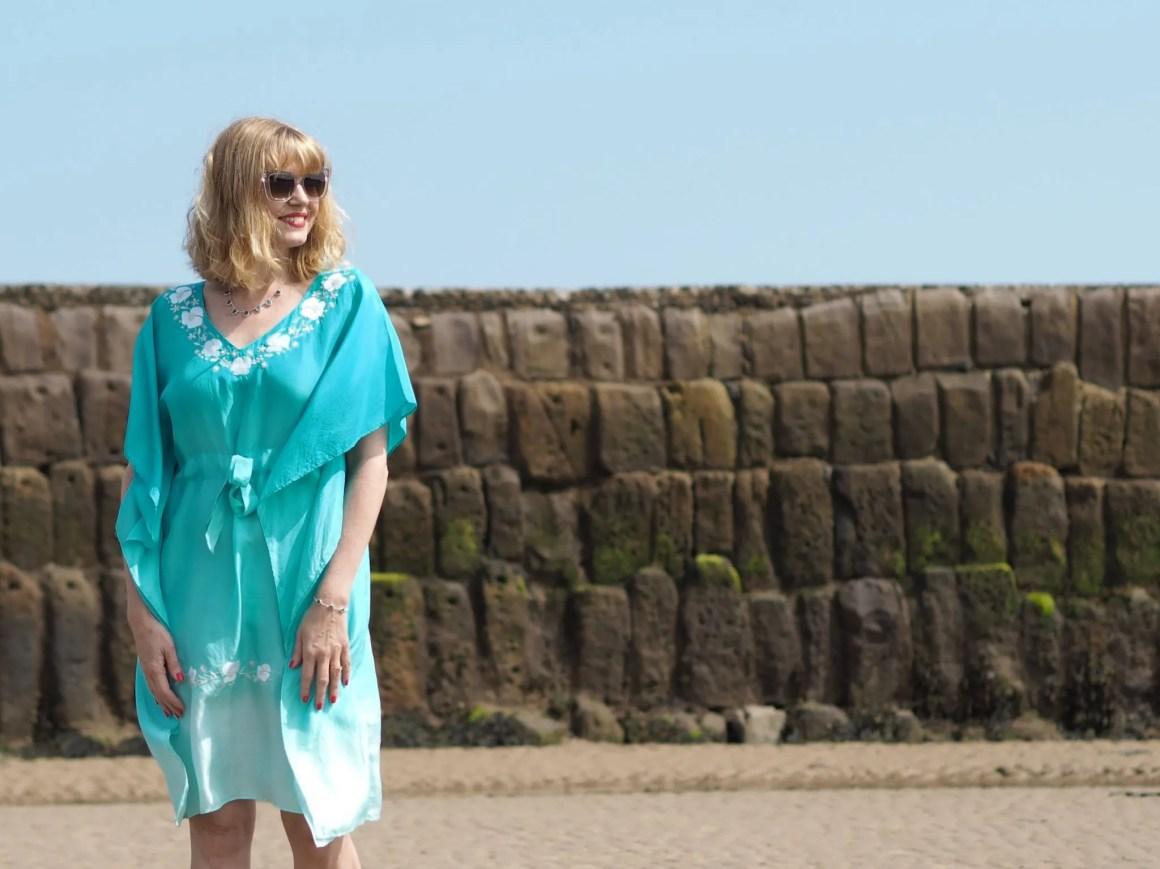 turquoise resort wear