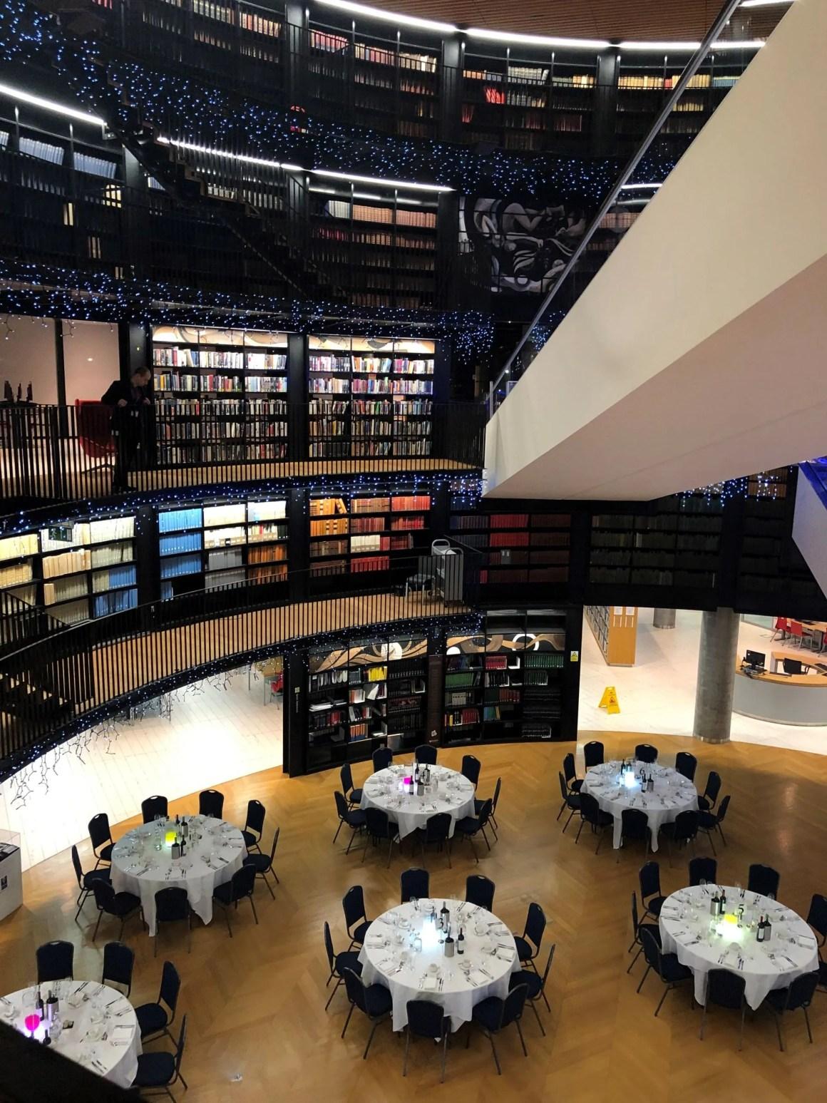The Book Rotunda, Birmingham, essilor Academy