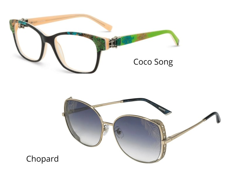 palm leaf eyewear